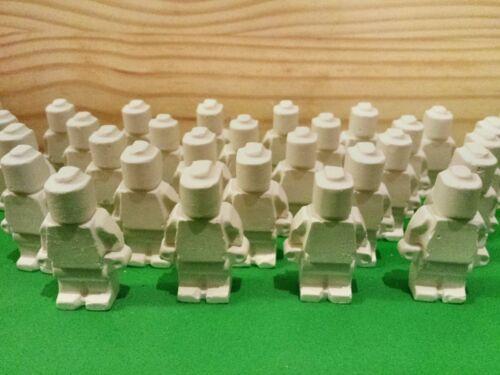40 Minifigures = réactive tir cible Air Rifle Airsoft BB Chalk