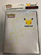 PRE-ORDER SHIPS 2/26 Pokemon: 25th Anniversary First Partner Collector's Binder