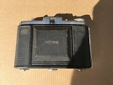 Zeiss Ikon Nettar-Lens Vario, Novar Anastigmat 1:6.3 f=75mm,Rangefinder,VTG
