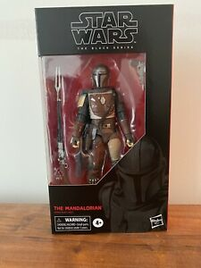 Hasbro-Star-Wars-The-Black-Series-The-Mandalorian-6-034-Action-Figure