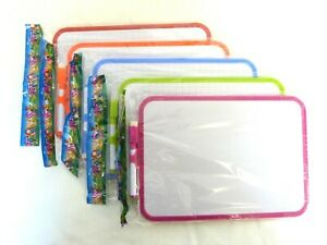 A4-Mini-Kids-Whiteboard-Plastic-Frame-Double-Side-18-5cm-x-27-5cm