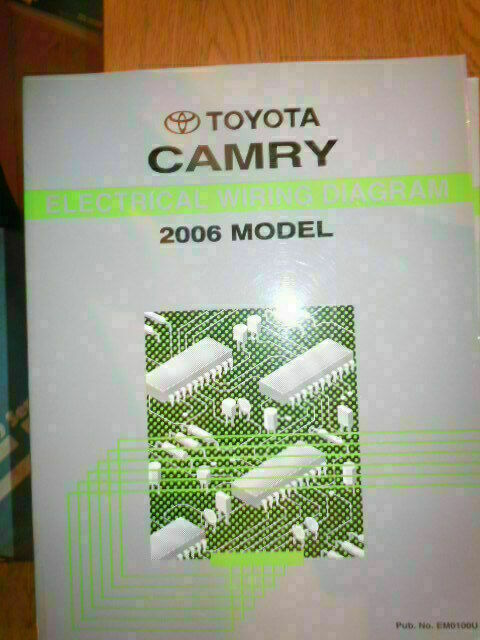 2006 Toyota Camry Electrical Wiring Diagram Service Manual