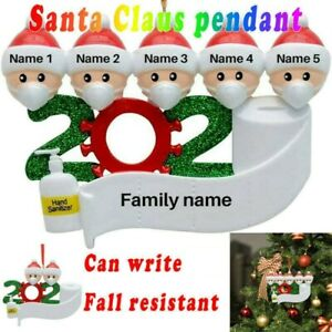2020-Xmas-Christmas-Tree-Hanging-Ornaments-Family-Ornament-Santa-Claus-Decor-DIY