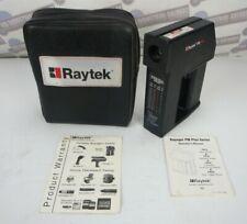 Raytek Pm Plus Handheld Infrared Noncontact Thermometer Rayrpm30l2u Wcase Amp Inst