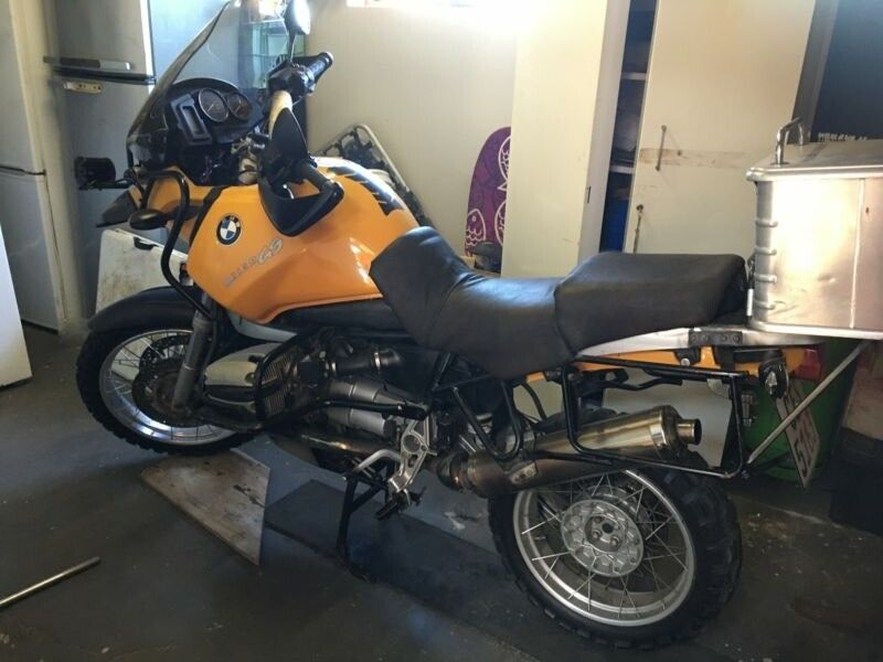 Bmw1150gs motorcycle