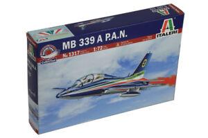 ITALERI-1317-Aereo-modello-militare-AERMACCHI-MB-339A-PAN-kit-di-montaggio-1-72