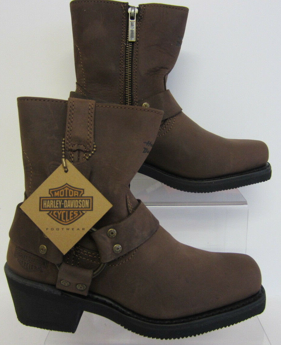 Harley-Davidson Harness Brown Brown Brown Boots Ladies D84423 UK 3.5 x 7 (R99) 8a03cc