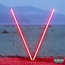 MAROON 5 - V  (Red Coloured LP Vinyl) sealed