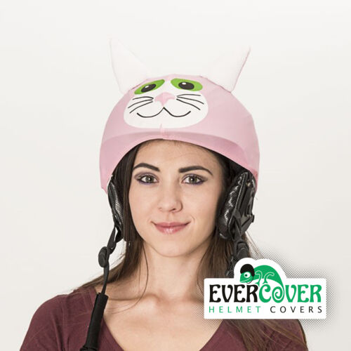 Pussy cat helmet cover is suitable for technically all kinds of sport helmets
