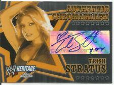 2006 TOPPS WWE HERITAGE CHROME TRISH STRATUS AUTO SP PACK FRESH BGS? AUTOGRAPH