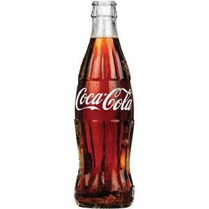 Coca-Cola Photorealistic Soda Bottle Decal 7 x 24 Coke Kitchen Wall Decor