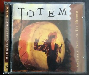 Gabrielle-Roth-amp-The-Mirrors-Totem-CD-Us-Issue-Raven-36998-5862-2-Nm-Mint