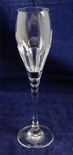 "Oscar de la Renta Crystal LE GRANDE FLEUR Tall Champagne Flute 9 1//4/"""