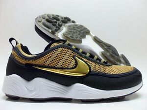 66584583a740 NIKE AIR ZOOM SPRDN SPIRIDON METALLIC GOLD SIZE MEN S 9.5  849776 ...