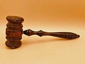 Vintage-Judge-Wood-Gavel