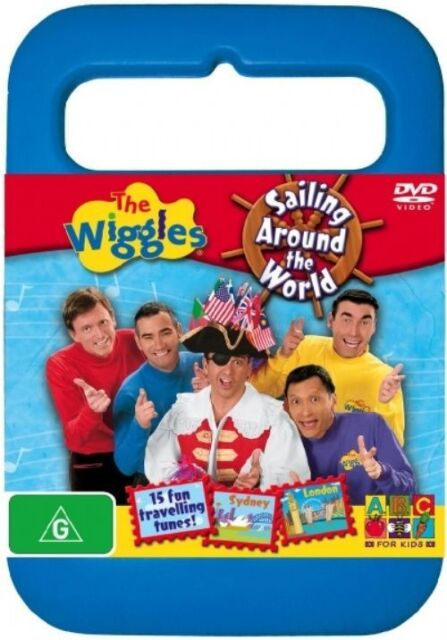 The Wiggles Sailing Around The World DVD 2005 R4 Acceptable Condition DISC ONLY*