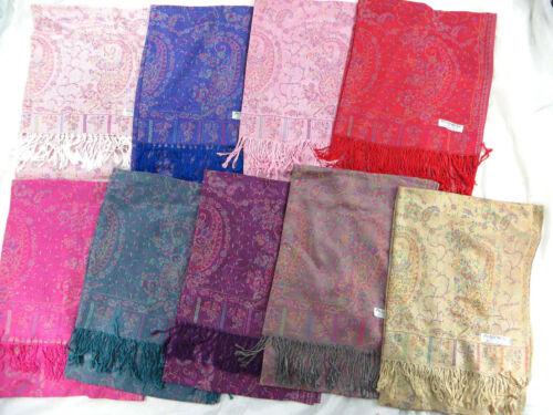 *US SELLER*  5pcs wholesale paisley viscose pashmina wrap shawl wrap scarves