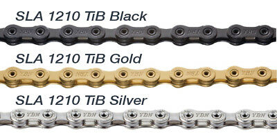 YBN 11 Speed Gold Semi hollow 11s MTB Bike Road Bicycle Chain SLA-11S 116links