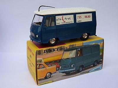 DAN TOYS Peugeot J7 Tôlé Allo Fret Toit bleu DAN 096