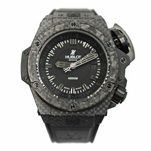 Hublot Big Bang King Power Oceanographic Carbon Ti 731.QX.1140.RX Diver Watch