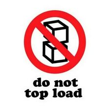 New Listing3 X 4 Do Not Top Load Labels 500 Per Roll
