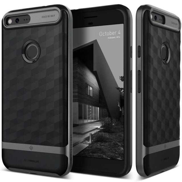 huge discount b77fa 9382b Caseology Parallax Case for Google Pixel 1 Slim Dual Layer Protective