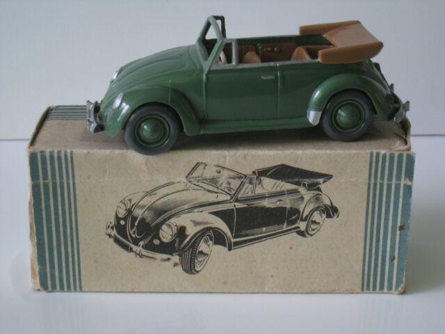 Original alter Wiking Leerkarton 1:40 VW Käfer Cabriolet - selten