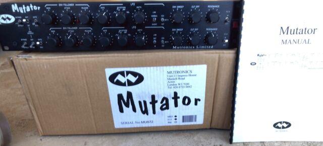 Mutronics Mutator filter box