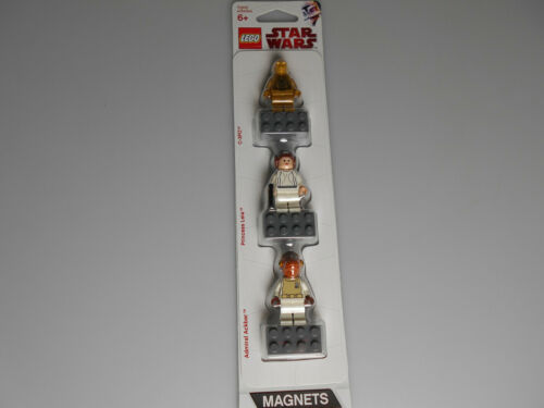 Lego® Star Wars 3x Minifiguras Magnet Blister 852843 Nuevo