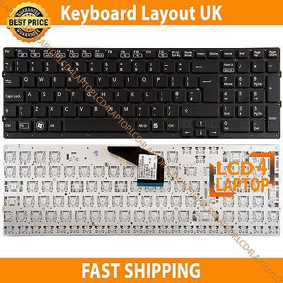 New Sony Vaio VPCF21 VPC-F21, 148952881 Laptop keyboard UK Layout -Without  Frame | eBay