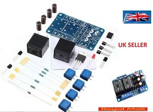 Audio Speaker Protection Board Components Kit Diy For Stereo