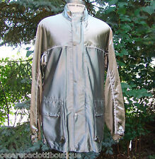 Limited Edition Belstaff Silver Belway Riding Jacket Parka Size L