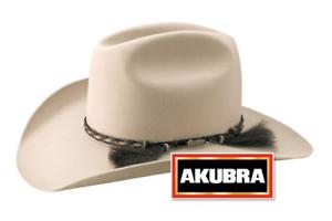 Akubra Rough Rider Western Felt Hat -Light Sand