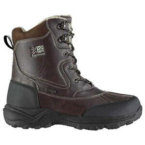 Karrimor-Informal-Hombre-Nieve-Botas-Color-Cafe-Uk-11-US-12-45-EUR-Ref-1854