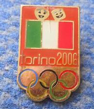 OLYMPIC TORINO TURIN PIN BADGE