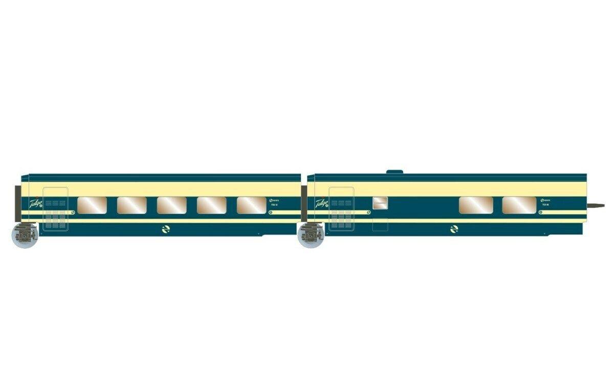 HS Arnold HN4274 Schlafwagenset RENFE  Trenhotel Talgo  2-teilg. Set Ep IV  N