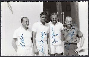 Tennis-Autografi-di-giocatori-tedeschi-su-cartolina-fotografica