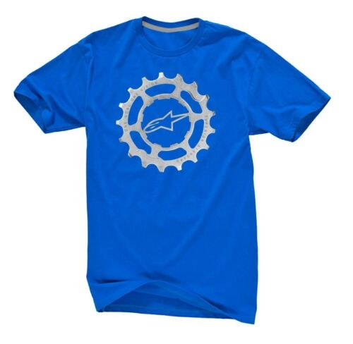 Alpinestars Forged Cycling Tee Blue Small