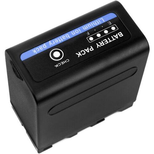 7.4V Battery for Sony HVR-Z1E 6600mAh Premium Cell NEW