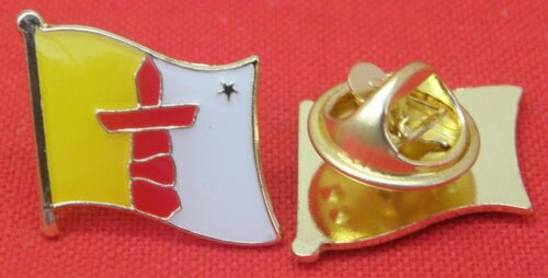 Nunavut Flag Lapel Hat Cap Tie Pin Badge Iqaluit Gift Souvenir Brooch