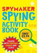 Spymaker: Spying Activity Book, Gaby Morgan, New Book