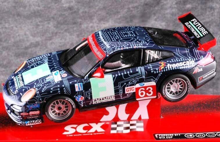 SCX Ref. A10037X300 Porsche 911 GT3 Cup -Richard Scalextric Tecnitoys 1 32 New