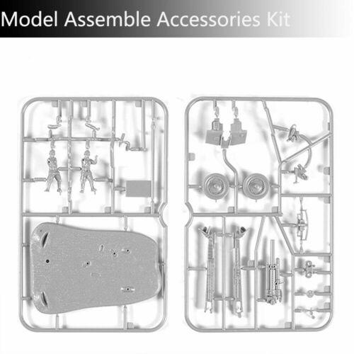 4D 1:72 Scenario PAK40 M30 M1938 Assembly Model Cannon Assemble Puzzle Brick Toy