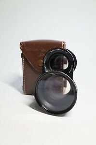 Rollei-Mutar-Wide-1-5x-Bay-R-III-3-With-case-For-TLR-Rolleiflex-2-8F-Mint-filter