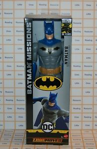 Batman-Missions-True-Moves-DETECTIVE-BATMAN-12-034-Scale-Figure-GHL87-Mattel