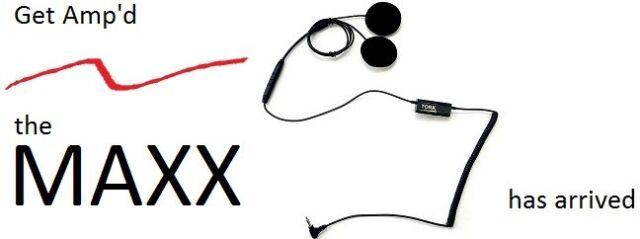 Tork MAXX helmet speakers, Speaker Audio Music