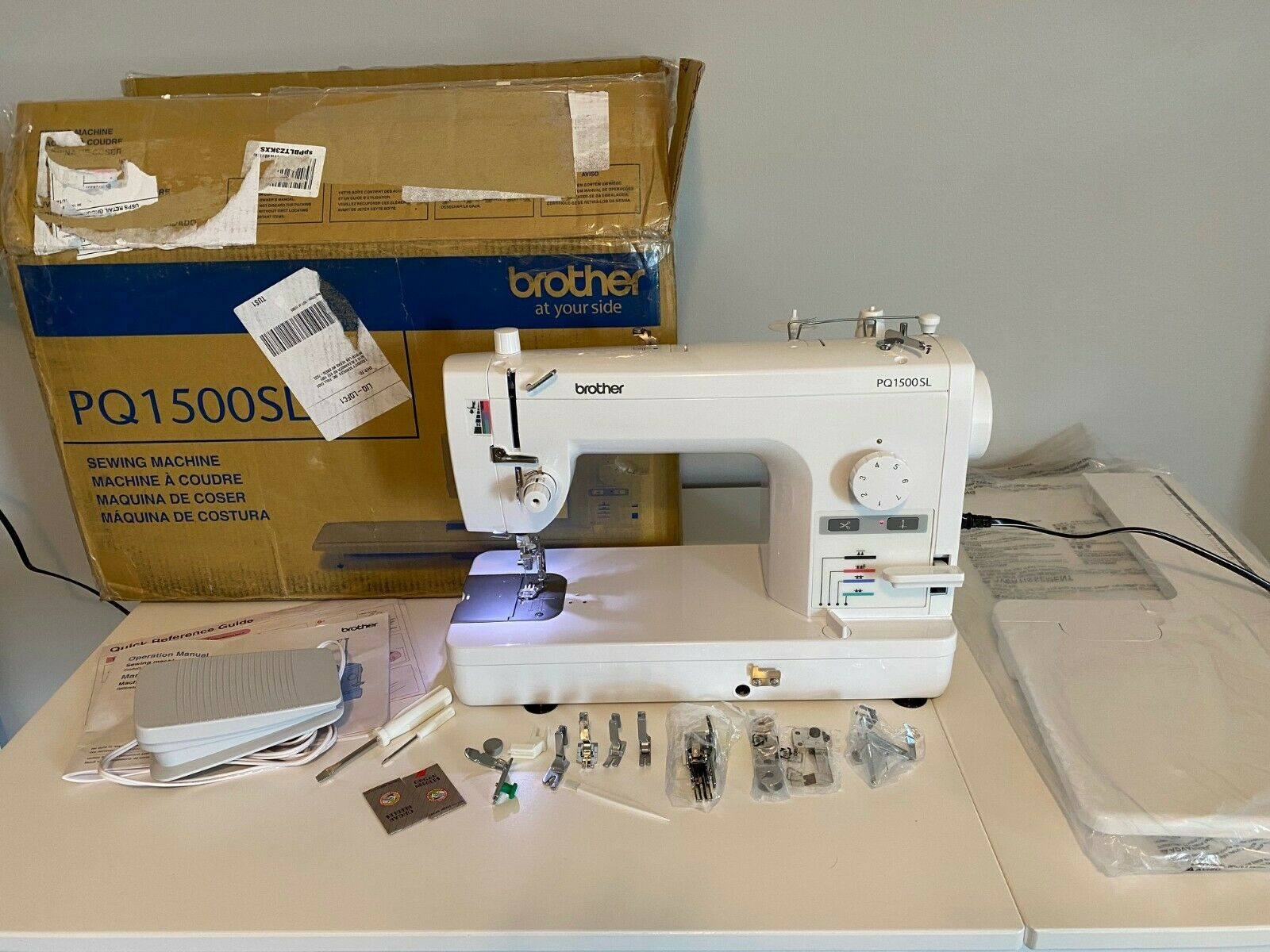 s l1600 - Brother PQ1500SL Straight Stitch Sewing Machine