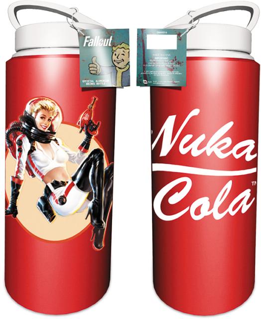 Fallout 4 Nuka Aluminium Drinking Red Flask