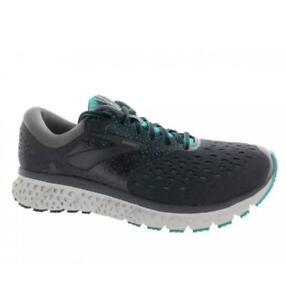 766e668c0dd Women s Brooks Glycerin 16 Running Athletic Shoes White Grey Black ...