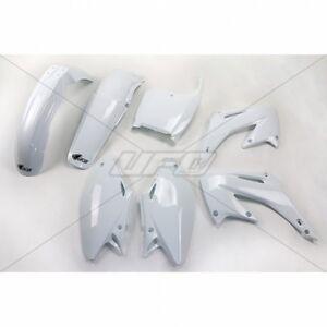 2933b954 UFO Plast 5 Piece Plastic Kit Honda CR 125 250 2002 - 2003 White ...